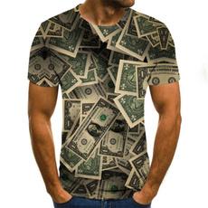 Summer, dollartshirt, Plus Size, Sleeve