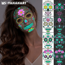 Funny, partymask, halloweensticker, Halloween
