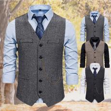 casual coat, Vintage, Vest, Suits & Blazers