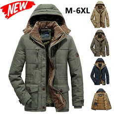 Casual Jackets, hooded, Winter, mens tops
