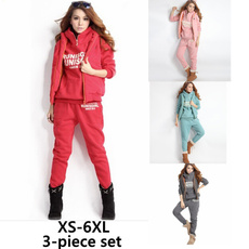 padded, sportjacket, women jogging suit, Winter