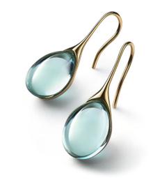 inlayearring, Gemstone Earrings, gold, bluesapphireearring
