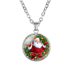 christmasnecklace, Gifts, Santa Claus, Deer