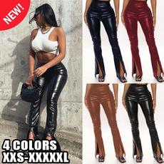 latex, Leggings, trousers, high waist