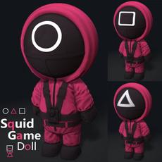 desktopornament, squidgametoy, Masks, squidgamedoll