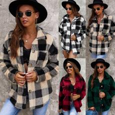 zippers, Fleece, plaid, sweaters for women