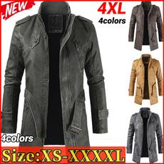 fur coat, Fashion, leathertrenchcoat, winter coat