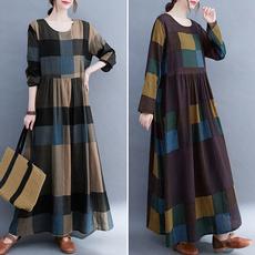 traveldres, Swing dress, Sleeve, plus size dress