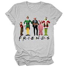 Funny, basictop, Christmas, noveltytshirt