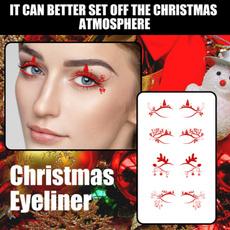 False Eyelashes, christmaseyeliner, Fashion, eye