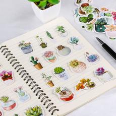 cute, Scrapbooking, Stickers, succulentplantssticker