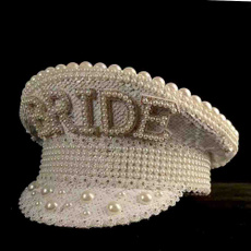 captainhat, fashion women, sequin hats, Jewelry