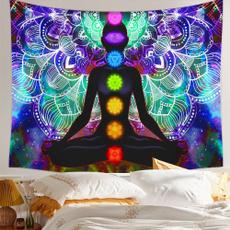 mandalatapestry, Colorful, bedroom, wallhangingtapestry