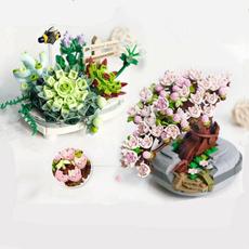 Mini, Decor, Flowers, Home Decor