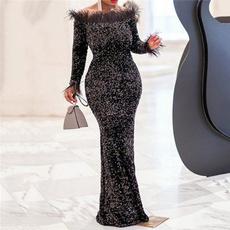 offshouldercroptop, Evening Dress, Dress, Women's Fashion