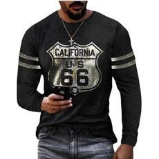 route66, Round neck, Fashion, Shirt