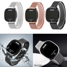 LED Watch, Steel, Touch Screen, led