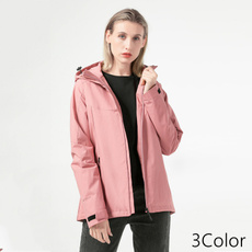 Casual Jackets, Cotton, Outdoor, hooded