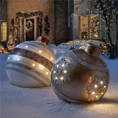 Ball, Christmas, Gifts, Inflatable