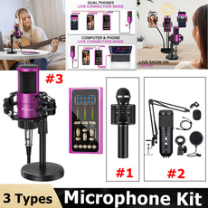 recordingmicrophone, microphonesystem, condensermicrophonewithtripod, studioequipment