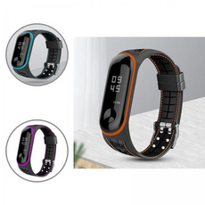 Wristbands, Silicone, Watch, Smart Watch