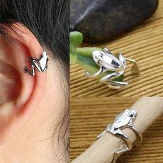 Fashion, White Gold Earrings, Earring, wrapearring