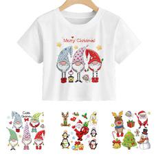 washable, irononsticker, Christmas, Santa Claus