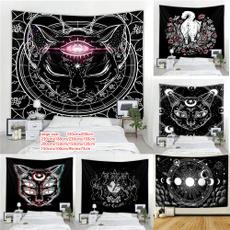 sunandmoon, tapestryhippie, witchcraft, Cats
