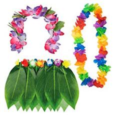 Hawaiian, hawaiianlei, Women's Fashion, hulaskirtforbarbecuepartie