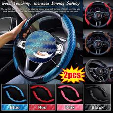 Fiber, steeringwheelcover, Carbon, Cover