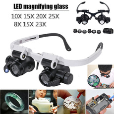 led, telescopicstick, magnifierglasse, magnifierwithledlight