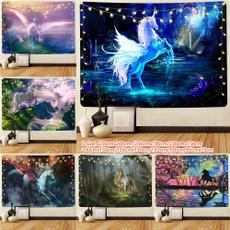 Decor, Wall Art, hippie, unicorn