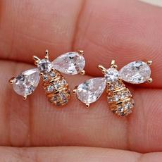 Pretty, Gemstone Earrings, gold, waterdropgemstone