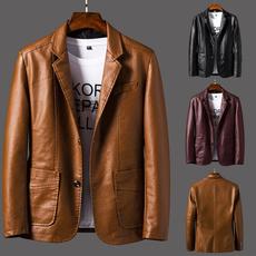 militaryclothing, Plus Size, militaryleatherjacket, autumnleatherjacket