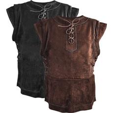 Vest, Plus Size, Waist Coat, Medieval