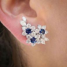 Blues, Women's Fashion & Accessories, Jewelry, Earring