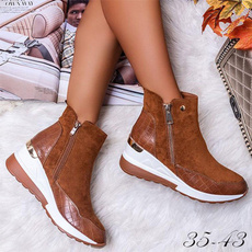 ankle boots, platformboot, Sneakers, boots for women