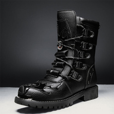 ankle boots, platformboot, Fashion, Leather Boots