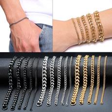 Steel, cuban, Fashion, Jewelry