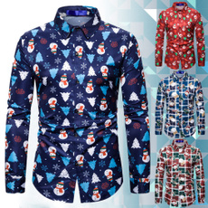 Fashion, xmasshirt, Funny, printed shirts