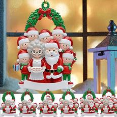 christmastreependant, Home Decor, Family, Wooden