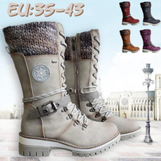 Shoes, midcalfboot, Leather Boots, Lace