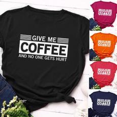 roundneckshirt, Coffee, Fashion, Graphic T-Shirt