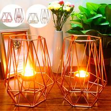 Candleholders, art, metalornament, Home Decor