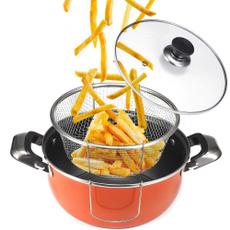 Steel, tempuradeepfryer, deepfryingpot, fryingpot