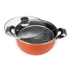 Kitchen & Dining, deepfryingpot, fryingbasket, stainlesssteelfrypot