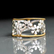 Sterling, goldringsforwomen, wedding ring, gold
