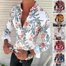 camisamasculina, Fashion, Shirt, Sunflowers