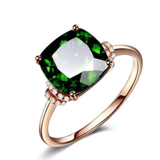 crystal ring, wedding ring, Bride, Emerald