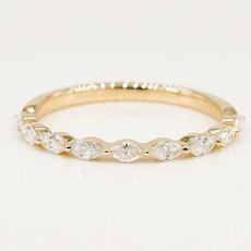 Sterling, DIAMOND, wedding ring, Simple